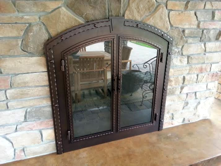 Outdoor-Fireplace-Stoll-Door-1
