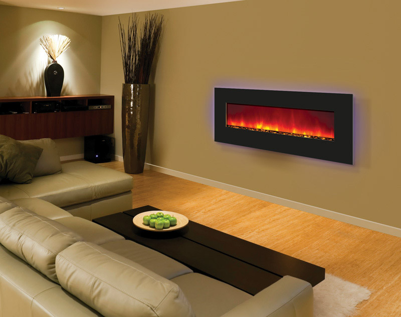 Amantii Wall Mount And Flush Mount Electric Fireplace Series