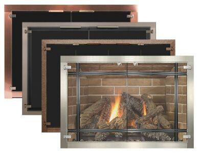 Fabulous Fireplace Doors Energy Savers Fireplaces Oakdale Mn Beutiful Home Inspiration Ommitmahrainfo