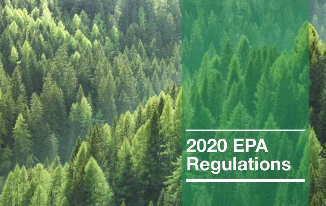 2020 EPA Regulations Cover