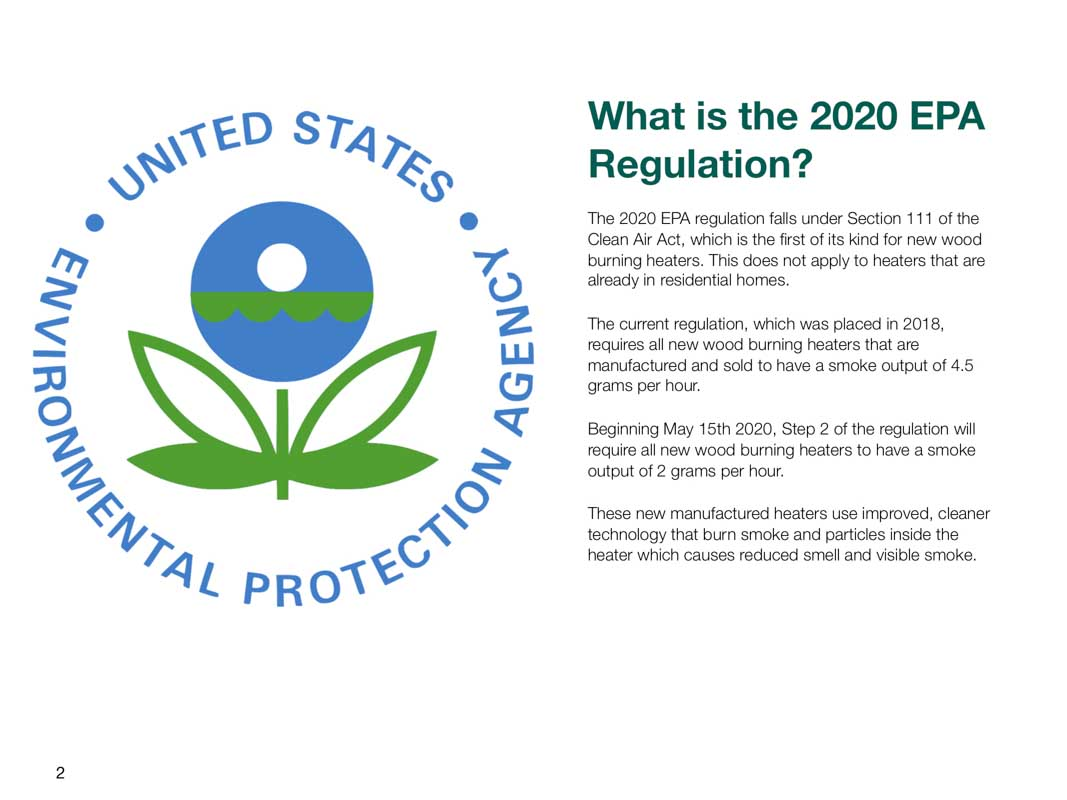 Explanation of the new 2020 EPA Regulations